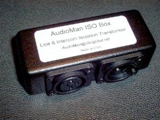 AudioMan ISO Box