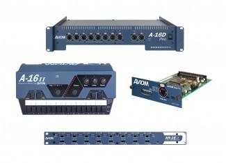 Aviom personal monitor mixer accessories
