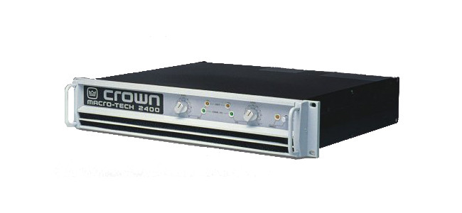 crown ma 2400 power amplifier rentals chicago and nationwide tc furlong. Black Bedroom Furniture Sets. Home Design Ideas