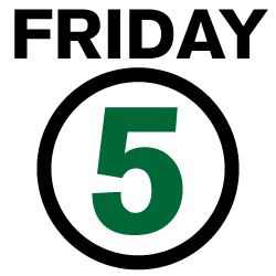 Friday 5 Logo