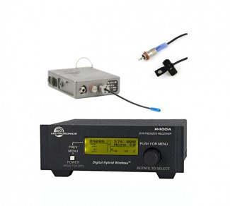 Lectrosonics wireless mic system image