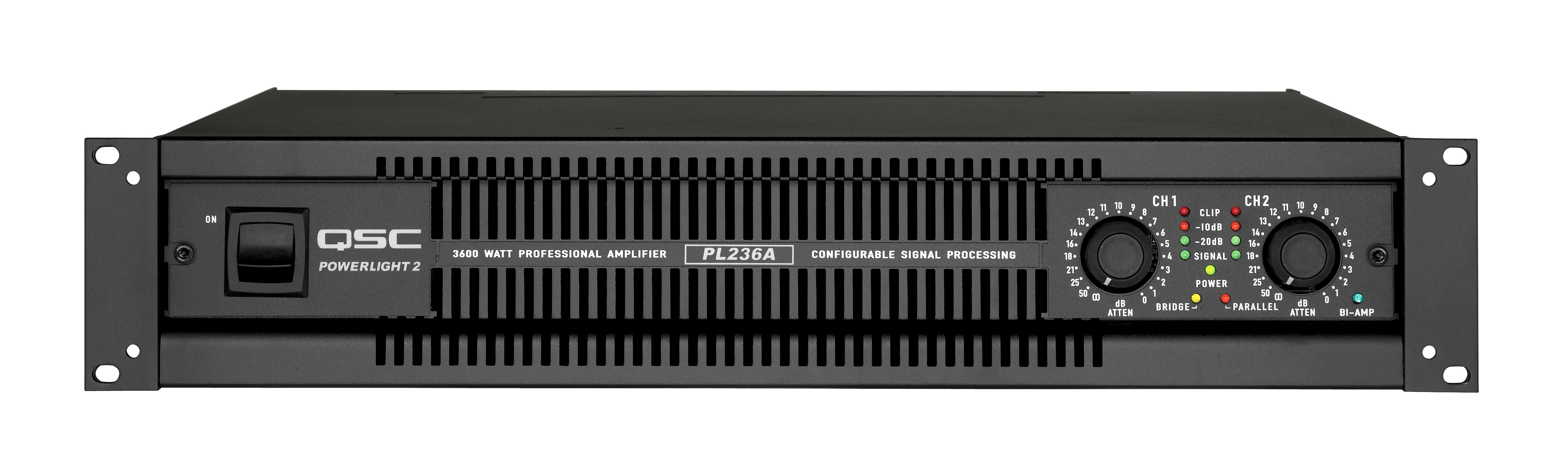 Qsc Pl236 Power Amplifier Rentals Chicago And Nationwide Tc Furlong 50 Watts Audio Rental