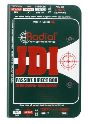 Radial JDI image