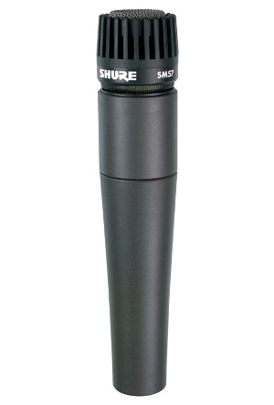 Shure SM57 Rental Microphone
