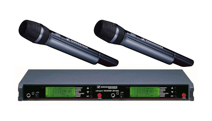 Sennheiser Wireless Microphone Rentals Chicago And