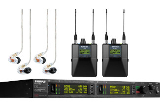 Shure PSM1000 In Ear Monitor Package image