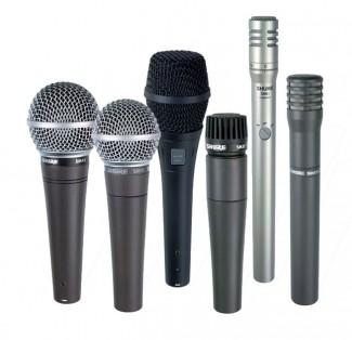 Shure microphones image