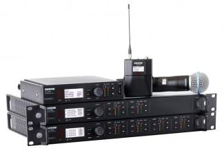 Shure ULXD4D and ULXD4Q Wireless Receivers