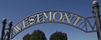 Westmont IL Cass Ave Westmont park sign